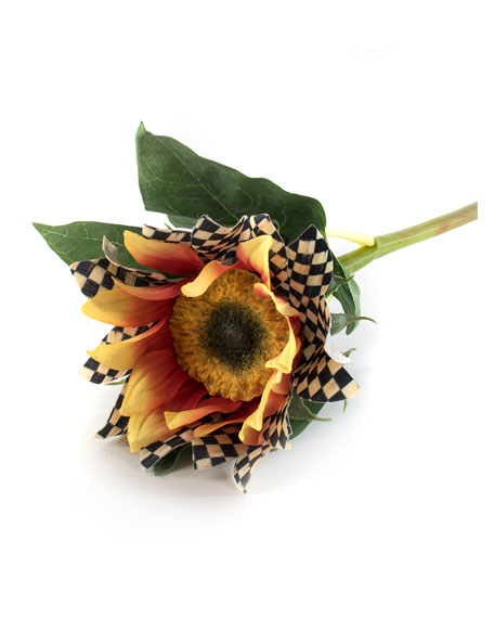 Courtly Check Sunflower Stem