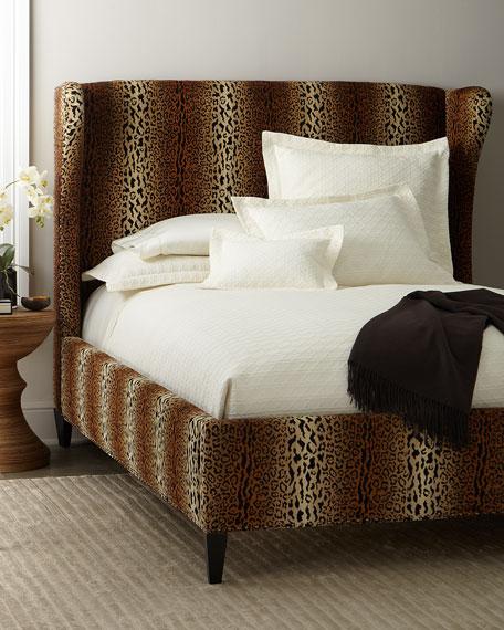 Fiona Cheetah King Bed