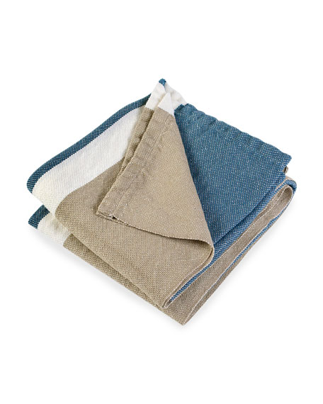 Harbor Colorblock Throw Blanket