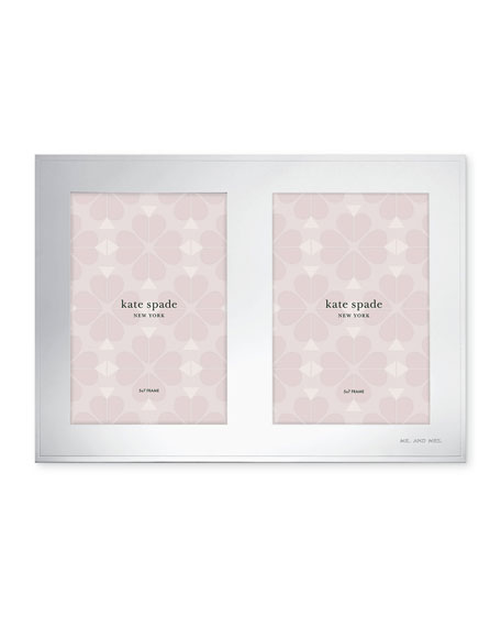 darling point double invitation picture frame