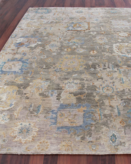Soto Hand-Knotted Rug, 6' x 9'