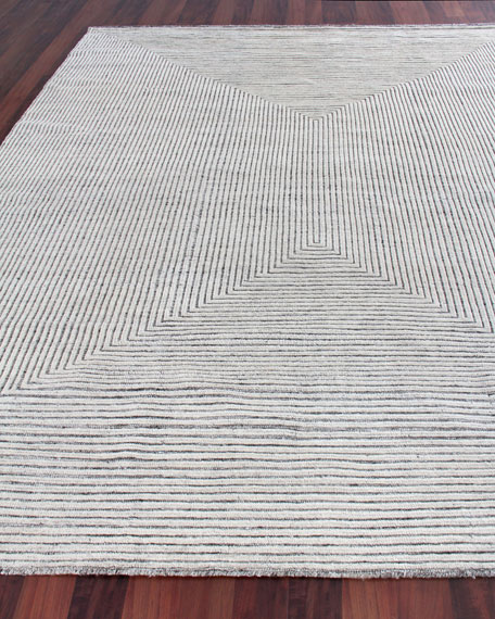 Martinez Hand-Knotted Rug, 9' x 12'
