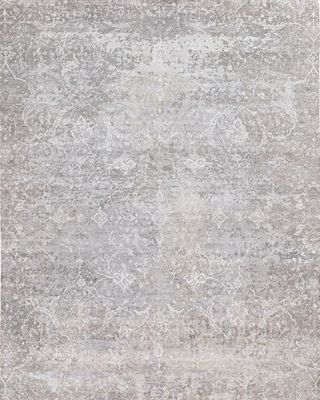 Muncy Hand-Knotted Rug, 10' x 14'