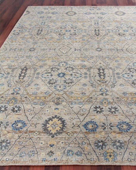 Bryce Hand-Knotted Rug, 10' x 14'