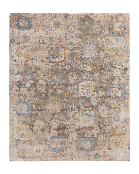 Soto Hand-Knotted Rug, 10' x 14'