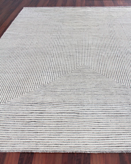 Martinez Hand-Knotted Rug, 10' x 14'