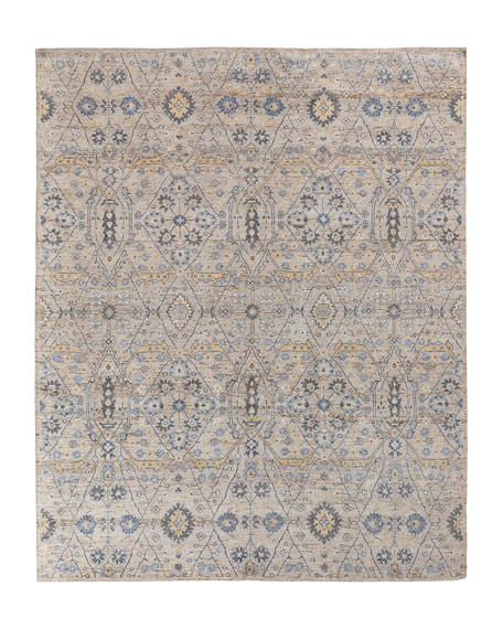 Bryce Hand-Knotted Rug, 9' x 12'