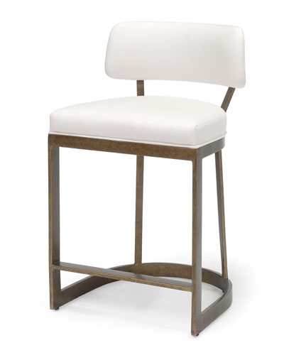 Conrad Golden Counter Stool