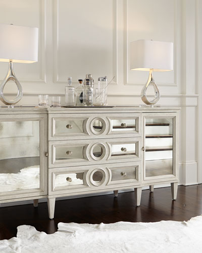 Allure Mirrored Front Buffet