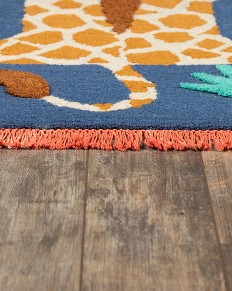 Roslyn Hand-Tufted Rug, 5' x 8'