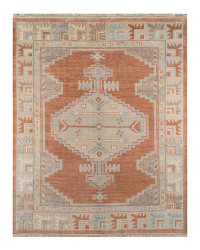 Othello Hand-Knotted Rug  5' x 8'