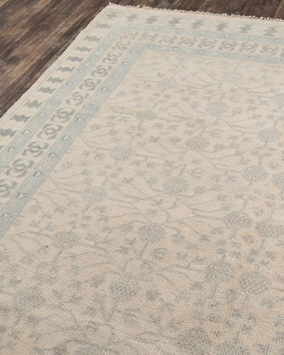 Whitman Hand-Knotted Runner  2' x 8'