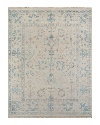 Benton Hand-Knotted Rug  5' x 8'