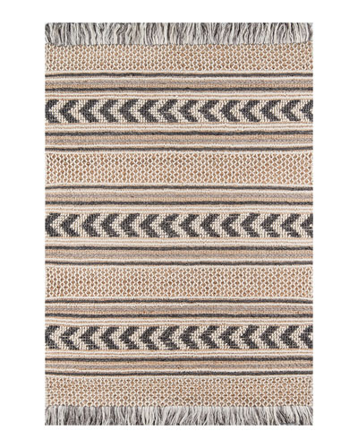 Vincent Hand-Woven Rug  6' x 9'