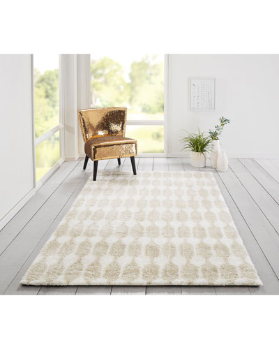 Coastal Hand-Tufted Rug  8' x 10'