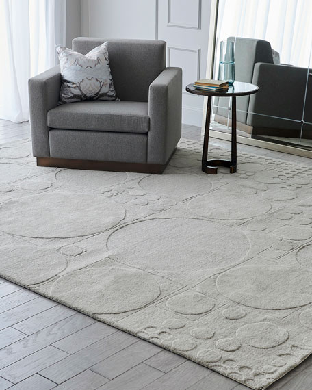 Global Views Dots Hand-Tufted Rug, 8' x 10'