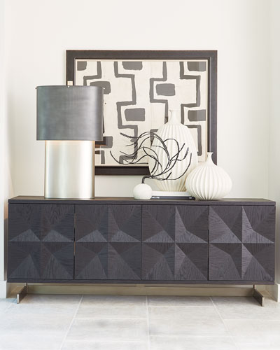 Cantilevered Star Media Console