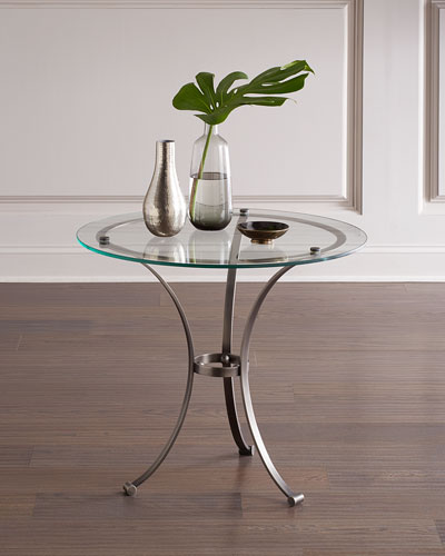 Gunmetal Tripod Side Table