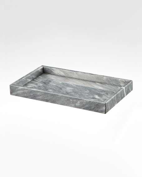 Eris Collection Cloud Gray Small Vanity Tray