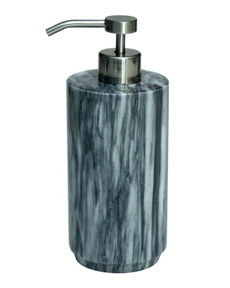 Marble Crafter Eris Collection Cloud Gray Soap Dispenser