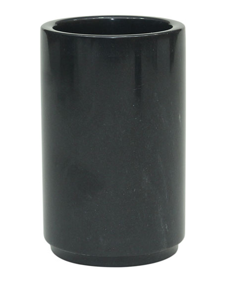 Marble Crafter Eris Collection Jet Black Tumbler