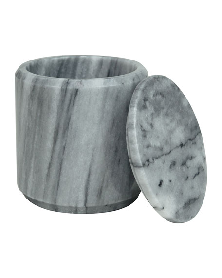 Eris Collection Cloud Gray Canister