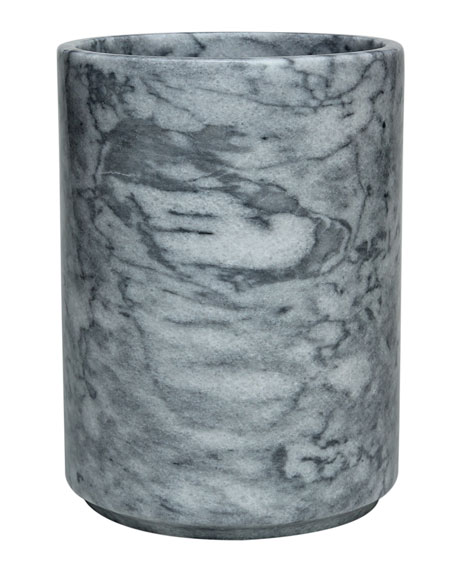 Eris Collection Cloud Gray Wastebasket with Liner