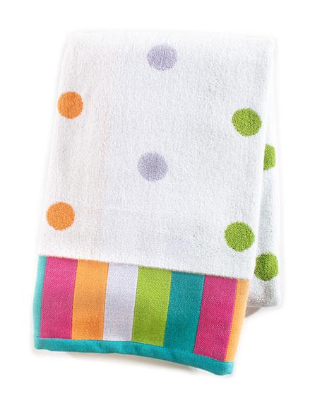 MacKenzie-Childs Trampoline Dot Bath Towel