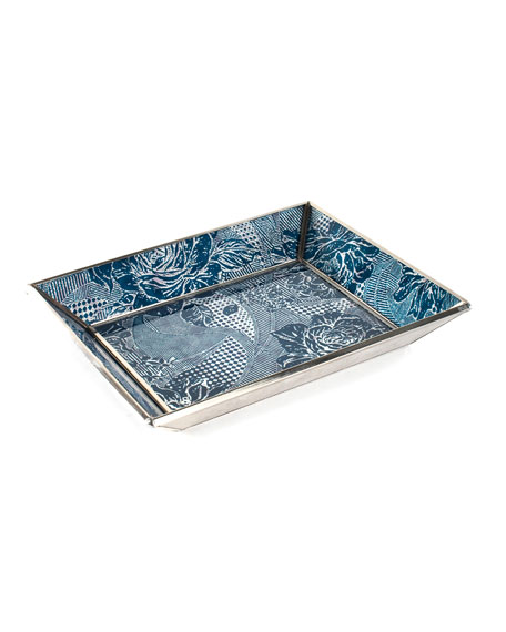 MacKenzie-Childs Royal Rose Small Tray