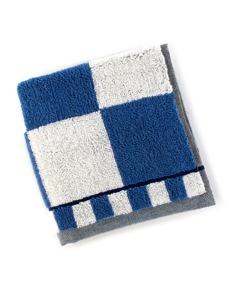 Royal Check Washcloth