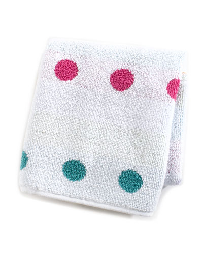 Trampoline Dot Washcloth