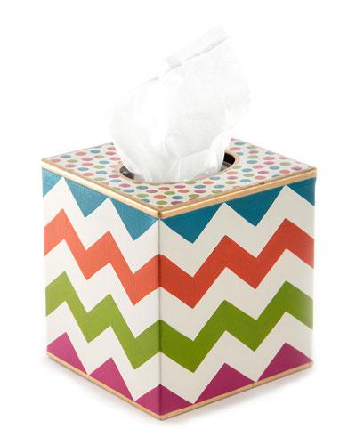 Trampoline Boutique Tissue Box Cover