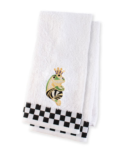 Frog Hand Towels  Set of 2