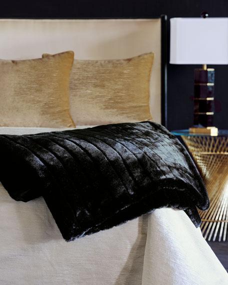 Park Avenue Faux-Fur Throw Blanket