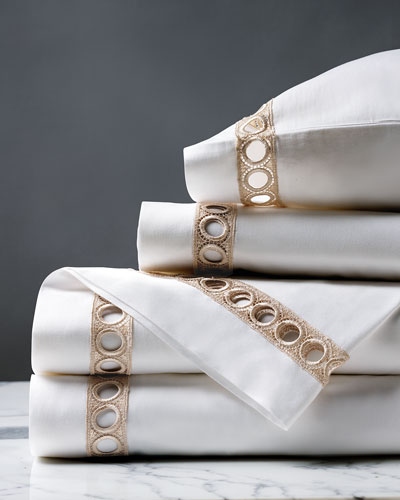 Celine Champagne King Sheet Set
