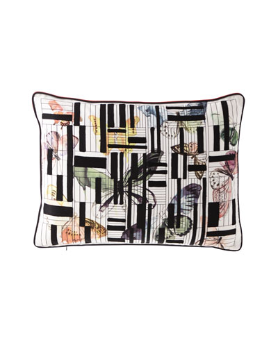 Lovely Escape Multicolor Pillow