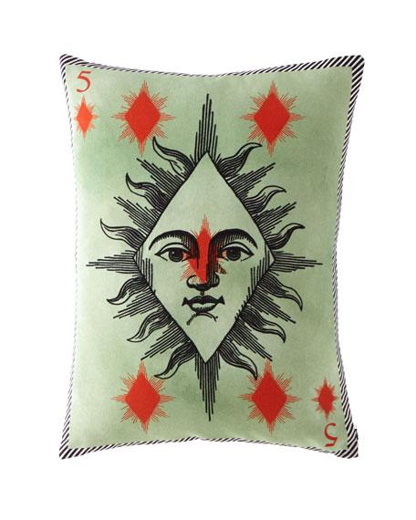 Madame Fleur Printemps Pillow