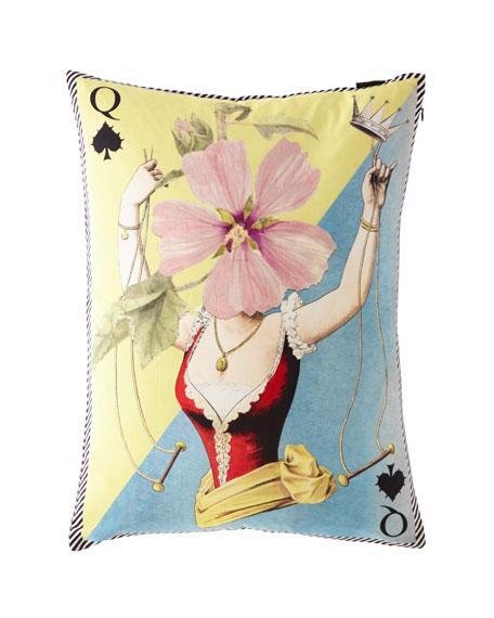Christian Lacroix Madame Fleur Printemps Pillow