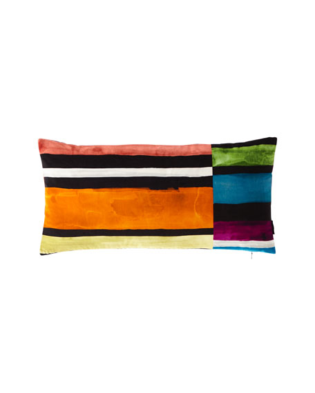 Sweet Night and Day Multicolor Pillow