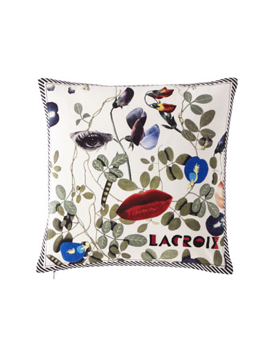 Dame Nature Printemps Pillow