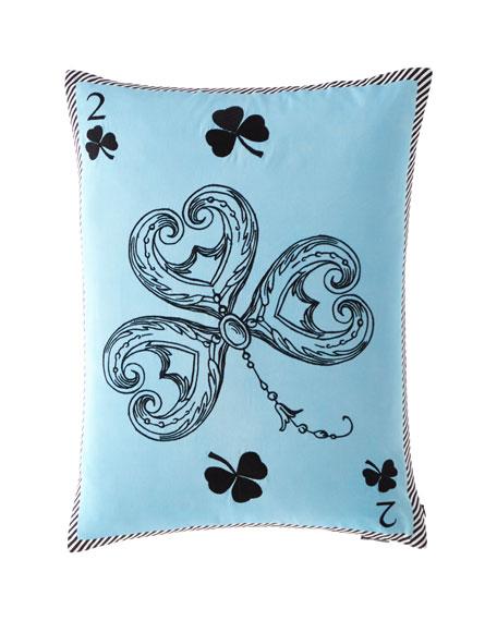 Monsieur Fleur Bleu Nigelle Pillow