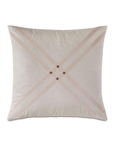 Maddox Nail Head Decorative Pillow