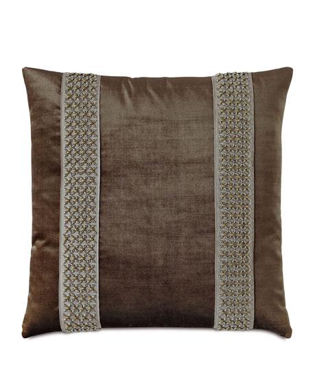 Silvio Beaded Decorative Pillow