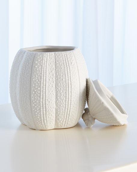 Urchin Bisque White Pot