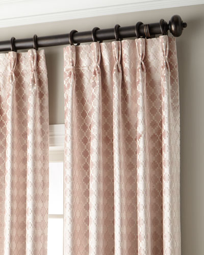 Tenley 3-Fold Pinch-Pleat Curtain with Blackout Lining  120