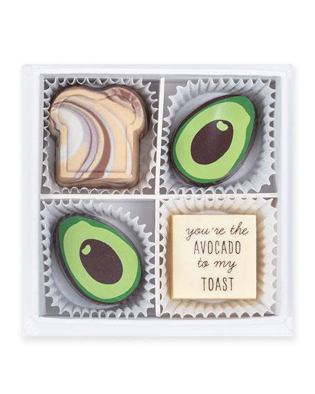 Avocado Toast Chocolate Gift Box
