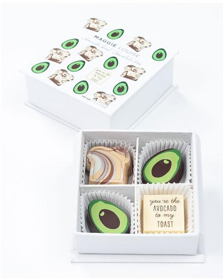 Maggie Louise Avocado Toast Chocolate Gift Box