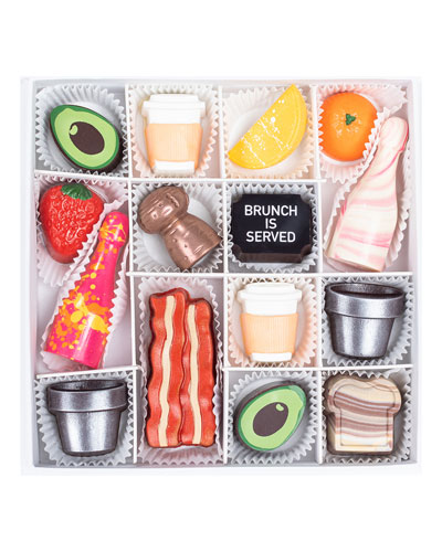Brunch Goals Chocolate Gift Box