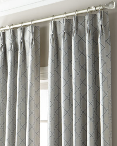 Mariana 3-Fold Pinch Pleat Curtain with Blackout Lining  108