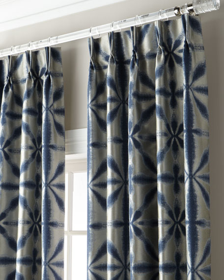 """Berenger 3-Fold Pinch Pleat Curtain with Blackout Lining, 120"""""""